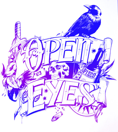 open your eyes  illustration