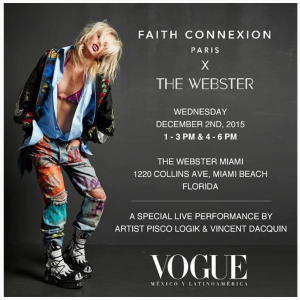The Webster, art basel miami ,faith connexion