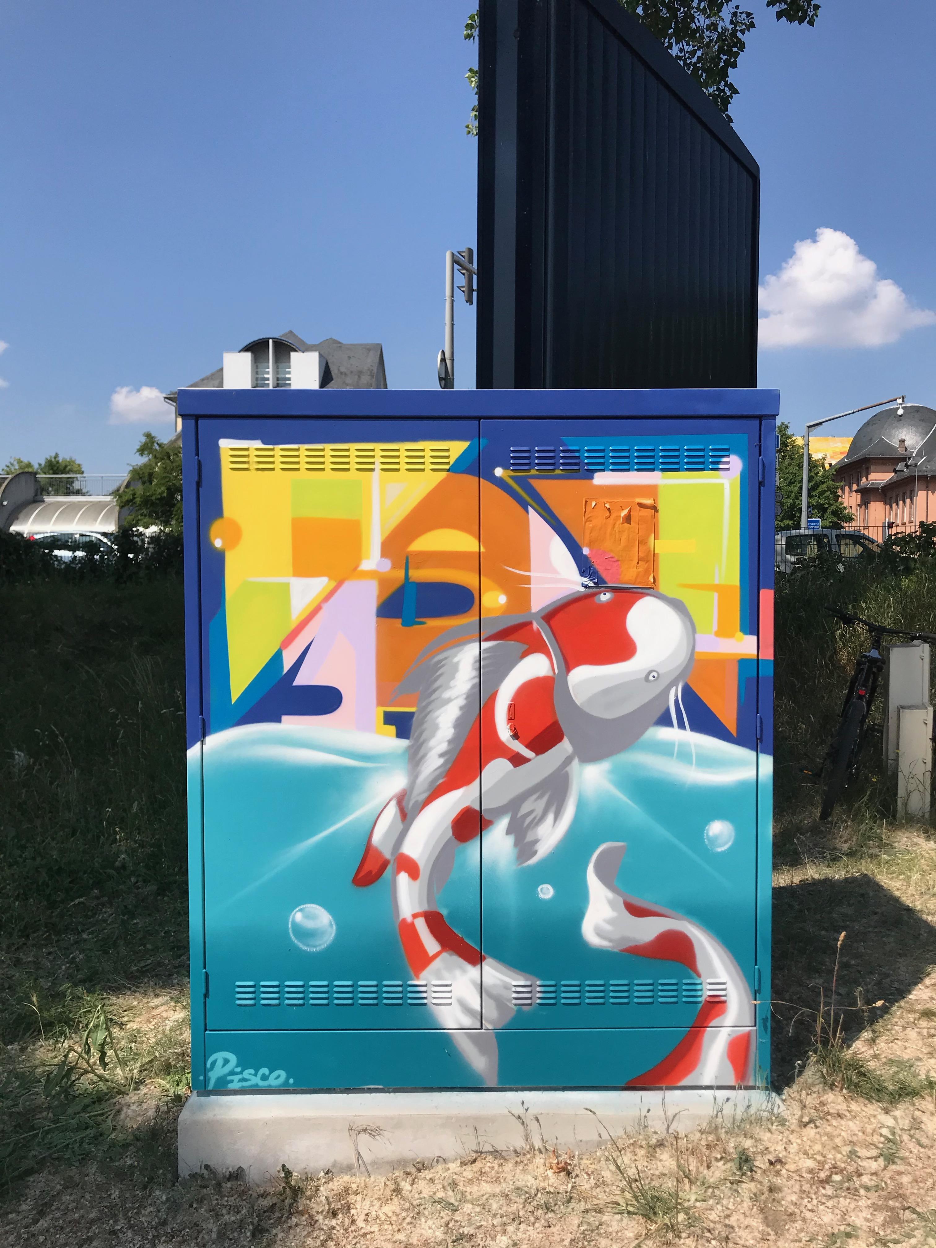 engie carpe strasbourg street art