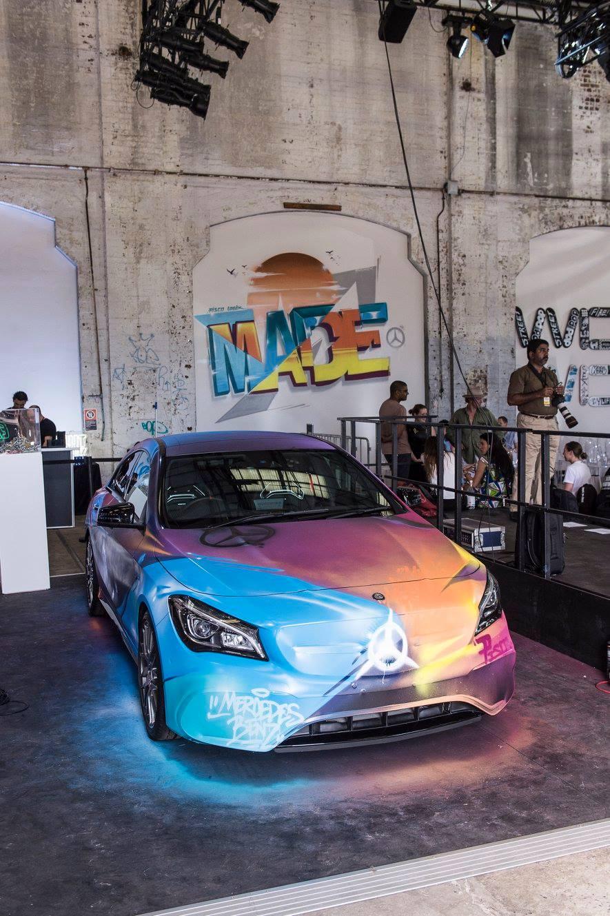 mercedes pisco Sydney made graffiti australia custom