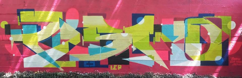 pisco graffiti street art streetart Strasbourg France art bunker orangerie
